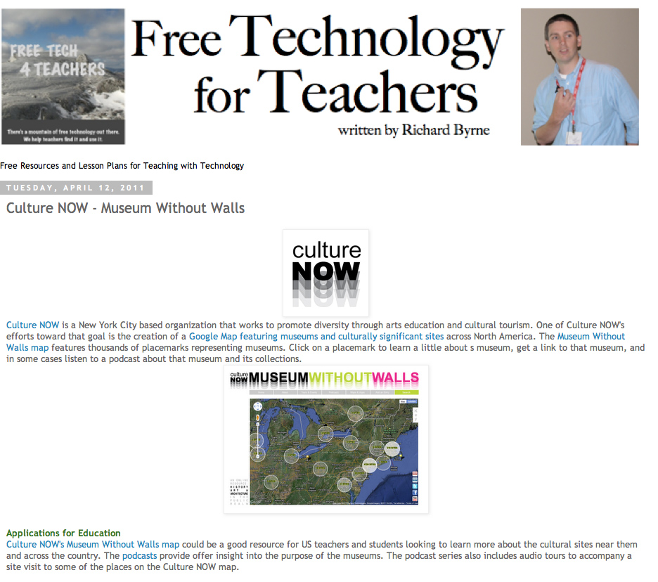Free Tech 4 Teachers Article